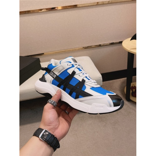 Replica Christian Dior Casual Shoes For Men #836613 $92.00 USD for Wholesale