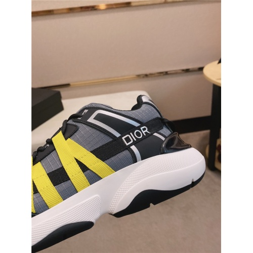 Replica Christian Dior Casual Shoes For Men #836614 $92.00 USD for Wholesale