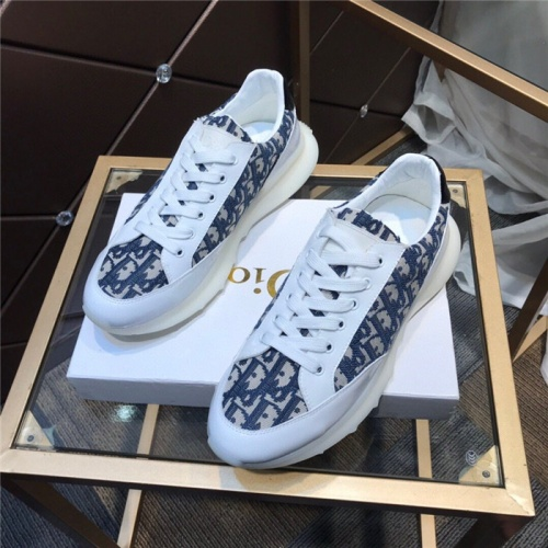 Christian Dior Casual Shoes For Men #836617 $76.00 USD, Wholesale Replica Christian Dior Casual Shoes