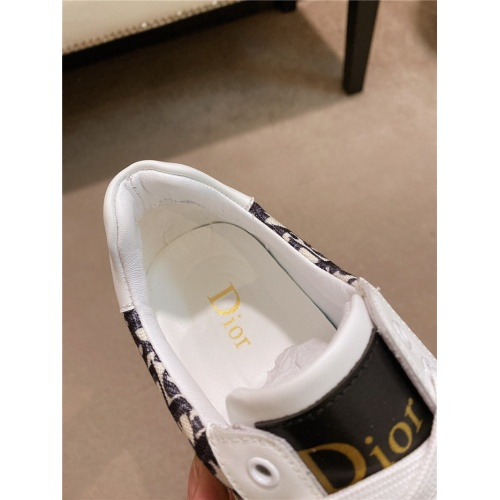Replica Christian Dior Casual Shoes For Men #836620 $76.00 USD for Wholesale