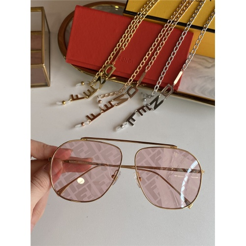 Fendi AAA Quality Sunglasses #836715 $48.00 USD, Wholesale Replica Fendi AAA Sunglasses