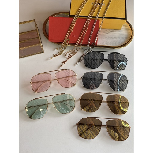 Replica Fendi AAA Quality Sunglasses #836715 $48.00 USD for Wholesale