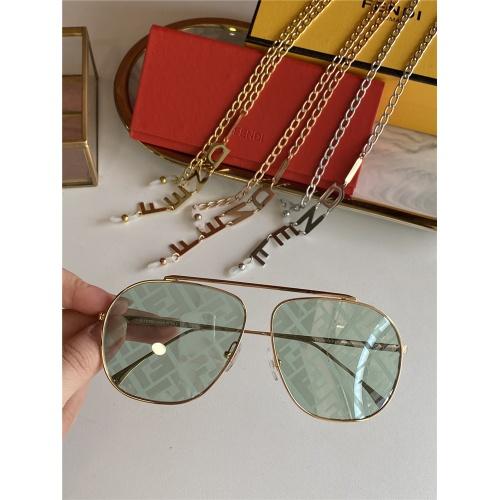 Fendi AAA Quality Sunglasses #836716