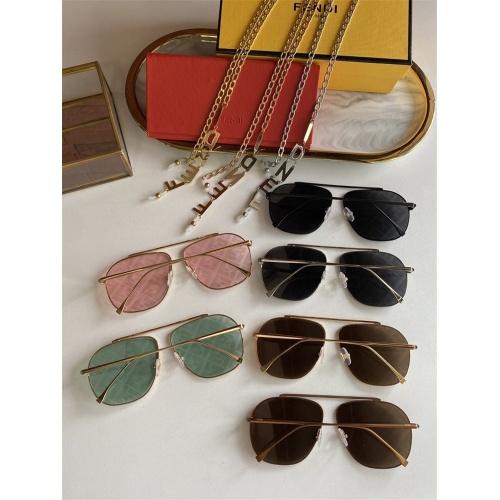 Replica Fendi AAA Quality Sunglasses #836716 $48.00 USD for Wholesale