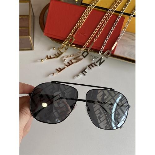 Fendi AAA Quality Sunglasses #836717