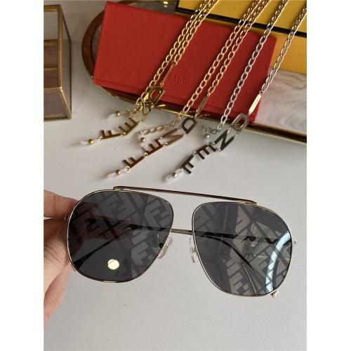Fendi AAA Quality Sunglasses #836718