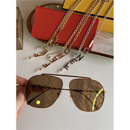 Fendi AAA Quality Sunglasses #836720