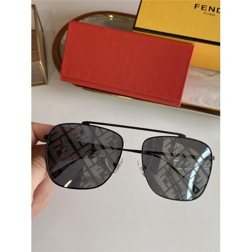 Fendi AAA Quality Sunglasses #836721 $52.00 USD, Wholesale Replica Fendi AAA Sunglasses