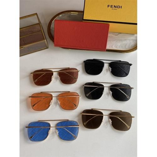 Replica Fendi AAA Quality Sunglasses #836721 $52.00 USD for Wholesale