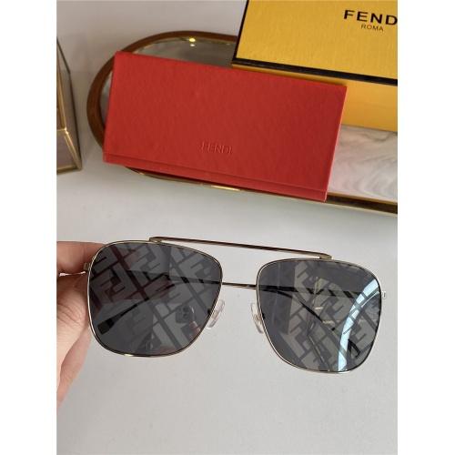 Fendi AAA Quality Sunglasses #836722