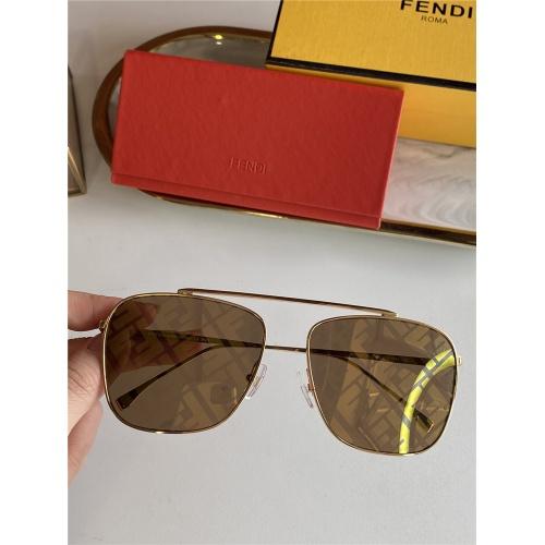 Fendi AAA Quality Sunglasses #836723