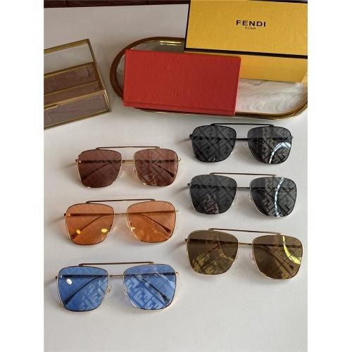 Replica Fendi AAA Quality Sunglasses #836723 $52.00 USD for Wholesale