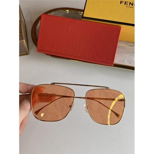 Fendi AAA Quality Sunglasses #836725 $52.00 USD, Wholesale Replica Fendi AAA Sunglasses