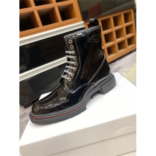 Replica Christian Dior Boots For Men #836758 $92.00 USD for Wholesale