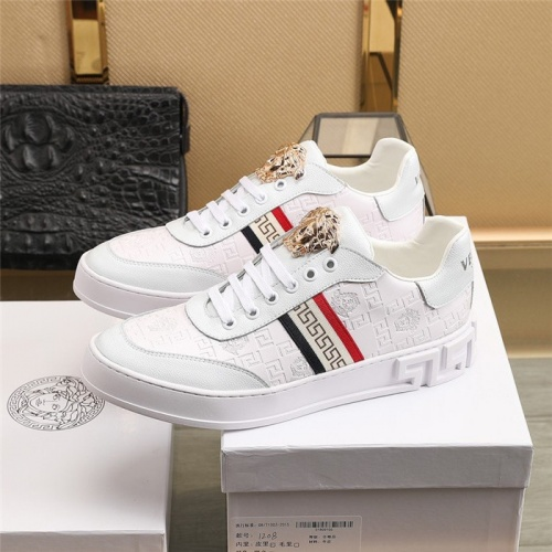 Replica Versace Casual Shoes For Men #836762 $82.00 USD for Wholesale