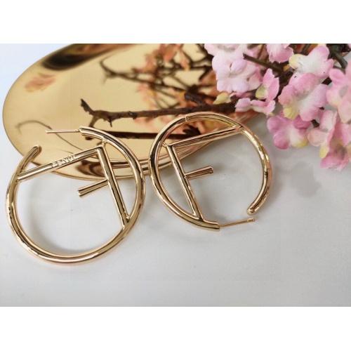 Fendi Earrings #836819 $25.00 USD, Wholesale Replica Fendi Earrings