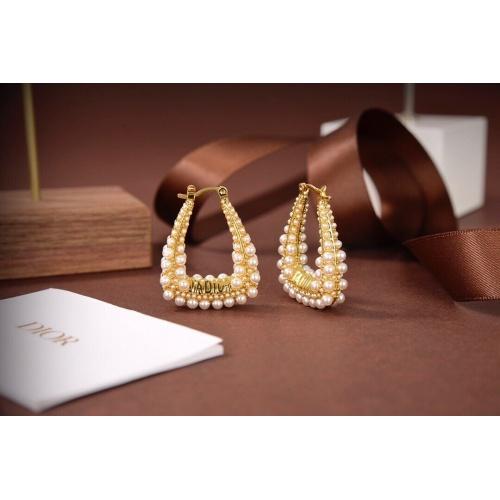 Christian Dior Earrings #836863 $34.00 USD, Wholesale Replica Christian Dior Earrings
