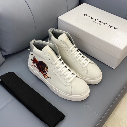 Givenchy High Tops Shoes For Men #836923
