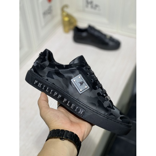 Replica Philipp Plein PP Casual Shoes For Men #836995 $80.00 USD for Wholesale