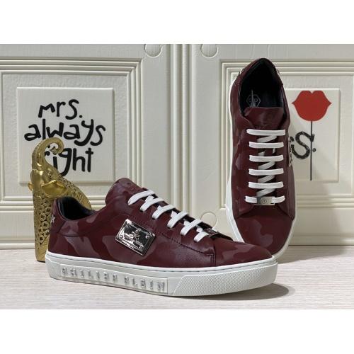 Philipp Plein PP Casual Shoes For Men #836996 $80.00 USD, Wholesale Replica Philipp Plein Shoes