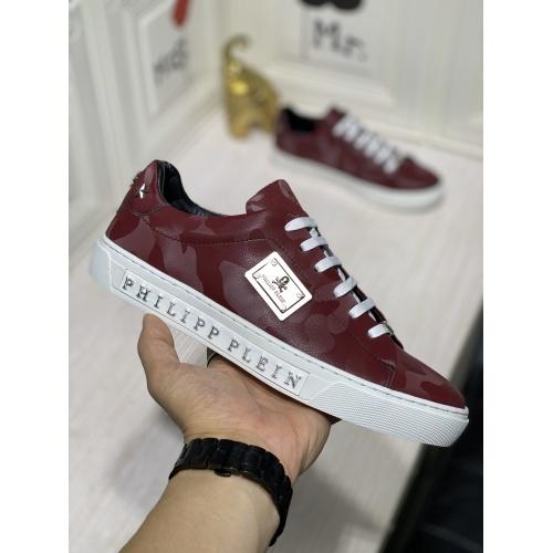 Replica Philipp Plein PP Casual Shoes For Men #836996 $80.00 USD for Wholesale
