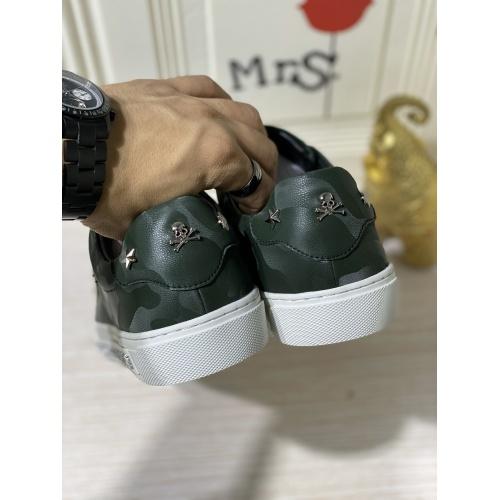 Replica Philipp Plein PP Casual Shoes For Men #836997 $80.00 USD for Wholesale