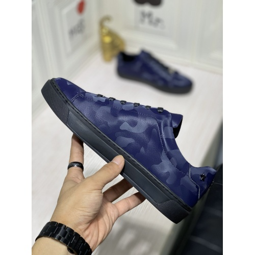Replica Philipp Plein PP Casual Shoes For Men #836998 $80.00 USD for Wholesale
