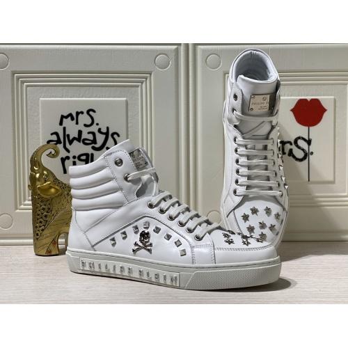 Philipp Plein PP High Tops Shoes For Men #837000