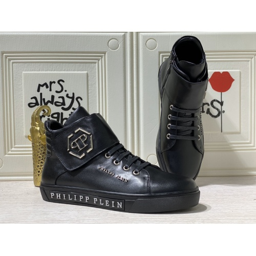 Philipp Plein PP High Tops Shoes For Men #837001