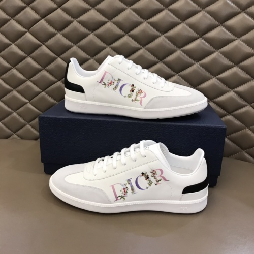 Christian Dior Casual Shoes For Men #837013 $80.00 USD, Wholesale Replica Christian Dior Casual Shoes