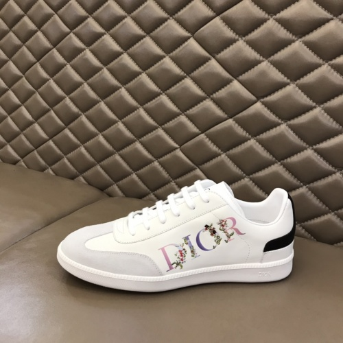 Replica Christian Dior Casual Shoes For Men #837013 $80.00 USD for Wholesale