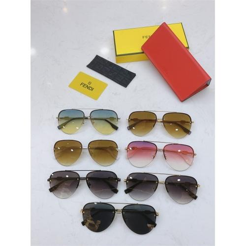 Replica Fendi AAA Quality Sunglasses #837028 $56.00 USD for Wholesale