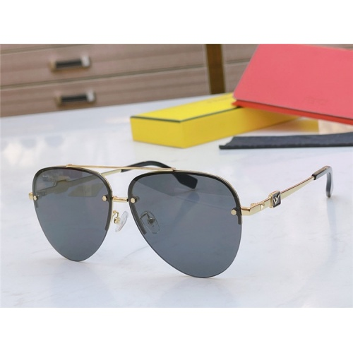 Fendi AAA Quality Sunglasses #837029 $56.00 USD, Wholesale Replica Fendi AAA Sunglasses