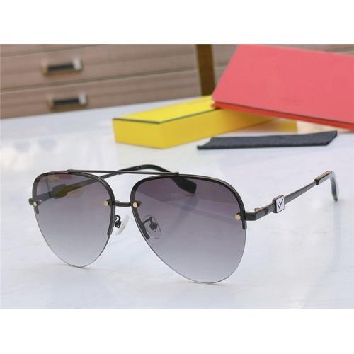Fendi AAA Quality Sunglasses #837030 $56.00 USD, Wholesale Replica Fendi AAA Sunglasses