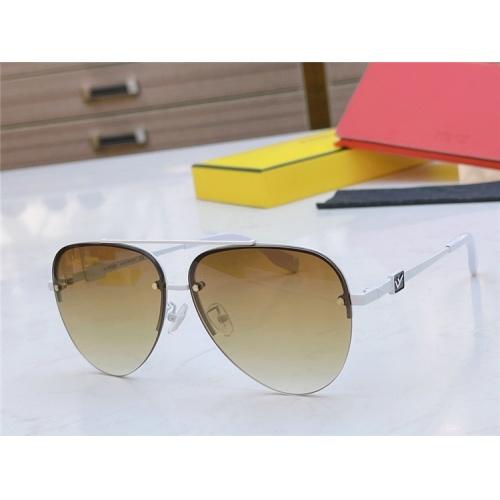 Fendi AAA Quality Sunglasses #837032 $56.00 USD, Wholesale Replica Fendi AAA Sunglasses