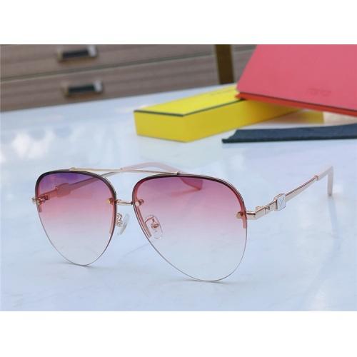 Fendi AAA Quality Sunglasses #837034 $56.00 USD, Wholesale Replica Fendi AAA Sunglasses