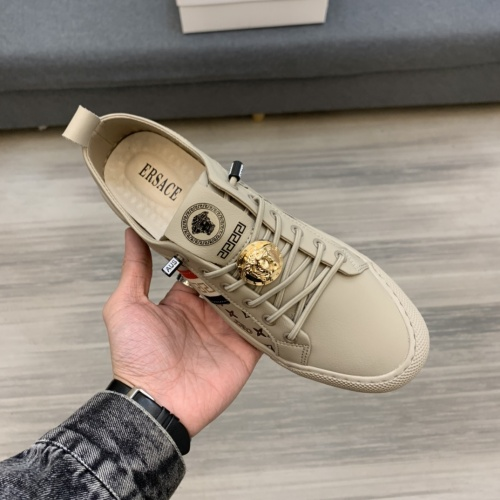 Replica Versace Casual Shoes For Men #837055 $82.00 USD for Wholesale