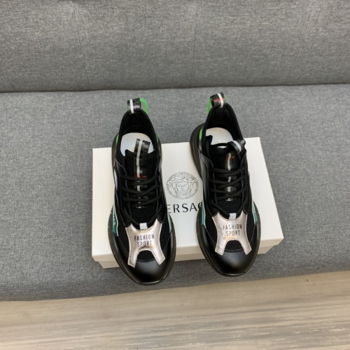 Replica Versace Casual Shoes For Men #837057 $92.00 USD for Wholesale