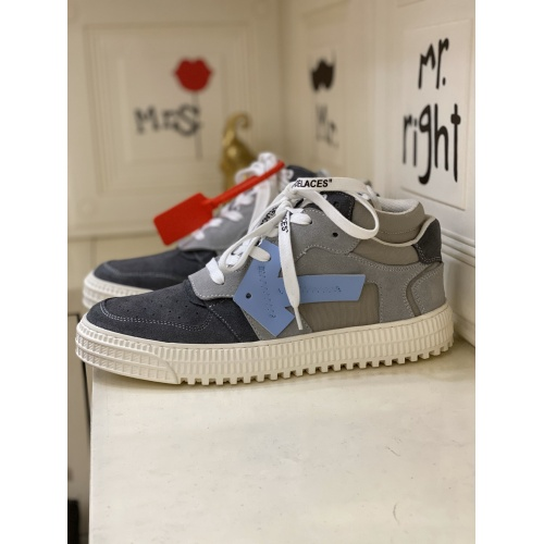 Off-White High Tops Shoes For Men #837109 $98.00, Wholesale Replica Off-White High Tops Shoes