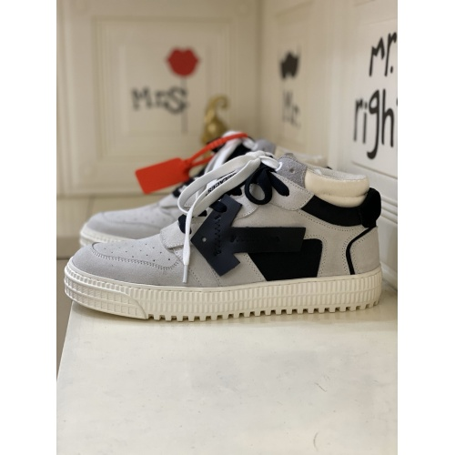 Off-White High Tops Shoes For Men #837112