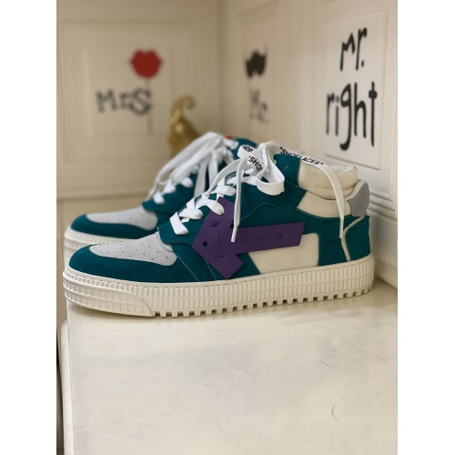 Off-White High Tops Shoes For Men #837113