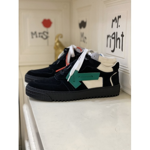 Off-White High Tops Shoes For Men #837114