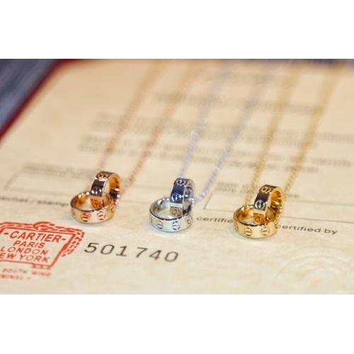 Replica Cartier Necklaces For Women #837141 $35.00 USD for Wholesale