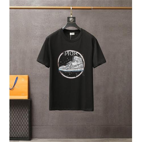 Christian Dior T-Shirts Short Sleeved For Men #837167 $38.00 USD, Wholesale Replica Christian Dior T-Shirts