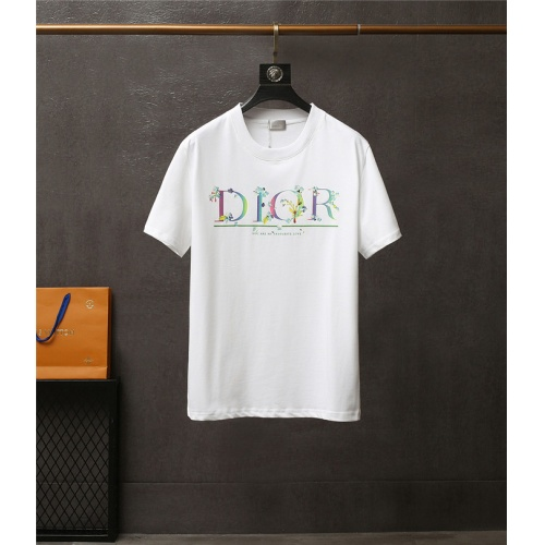 Christian Dior T-Shirts Short Sleeved For Men #837169