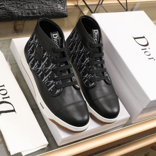 Christian Dior High Tops Shoes For Men #837171