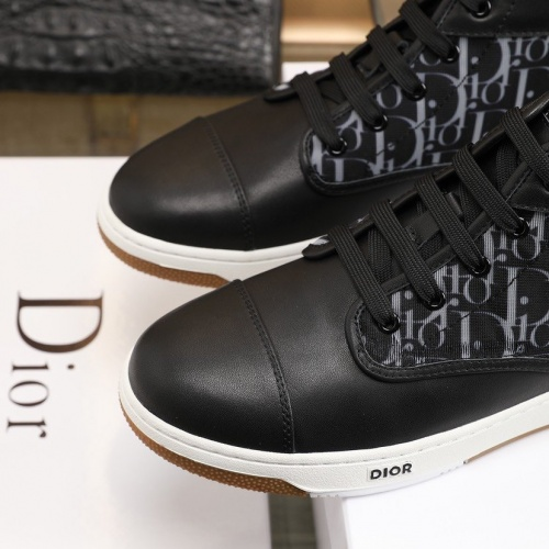 Replica Christian Dior High Tops Shoes For Men #837171 $92.00 USD for Wholesale