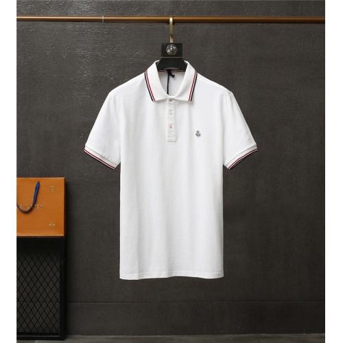 Moncler T-Shirts Short Sleeved For Men #837176