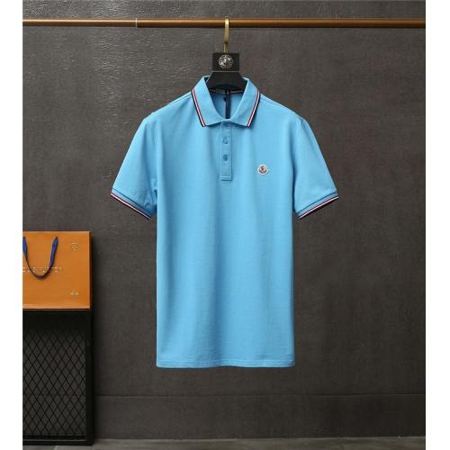 Moncler T-Shirts Short Sleeved For Men #837177