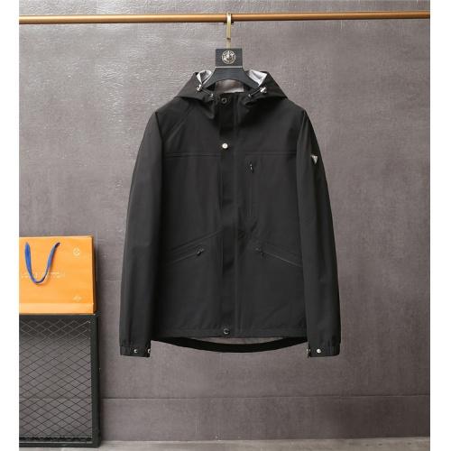 Prada Jackets Long Sleeved For Men #837202